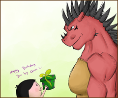 Happy Birthday Big Guy... by alright123100
