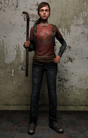 The Last of Us Ellie by Mageflower