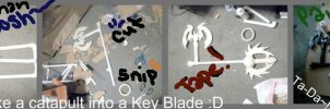 Halloween town keyblade by SukerForTheCardGames