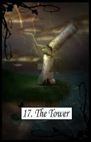Tarot The Tower by TheBlindProphetess