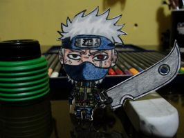 Kakashi paper child by Andres-Morales