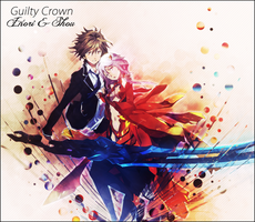 Lp Guilty Crown by XxAjisai-GraphicxX