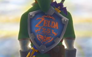 Zelda - Happy 25th Anniversary by corfidbizna