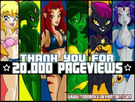 Thanks 20.000 pageviews. by TOONAMIX