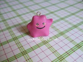 Ditto Charm 1 - Pokemon #132 by FunkadelicPsychoFish
