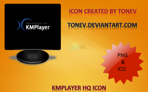 New Kmplayer icon PNG and ICO by tonev