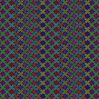 Colorful Border Pattern 2 by Humble-Novice
