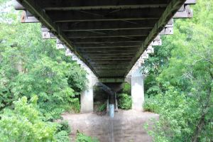 The swinging bridge, underside by Potential-Problem-01