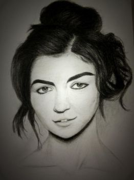 Marina Diamandis Drawing 1 by KenzieyKat