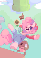 Super Pinkie World by pekou