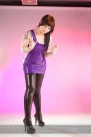 Foxxy in Purple 01 by GuldorPhotography