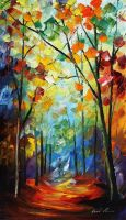 Lost compassion by Leonid Afremov by Leonidafremov