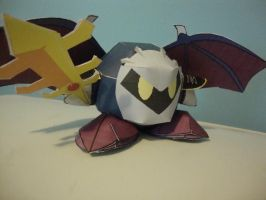 Meta Knight Papercraft by AnimeGang