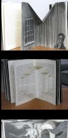 HP Lovecraft pop up book by tpuppets