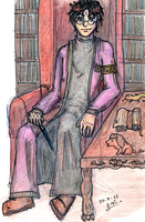 Head Auror Harry - King of Wands by ladysugarquill