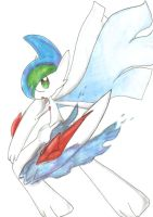 Mega Gallade by Nid15