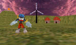 MMD Windmill Village DL by MMDFakewings18