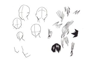FT Heads and Hair by BlueRiser