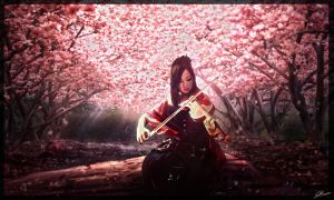 Melody of a Geisha by GuilleBot