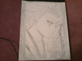 A Toshiro Birthday Sketch by EdwardElricx101
