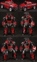 Custom TFP Ironhide by Solrac333