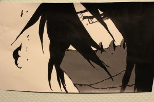 Bleach - Ichigo Final Getsuga Tensho finished by martha1101