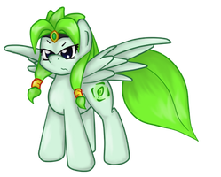 OC- Green Storm by GamefreakDX