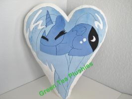 Luna Plush pillow by GreenTeaCreations