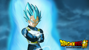 SSGSS Vegeta Arms Crossed Super Wallpaper v3 by EymSmiley