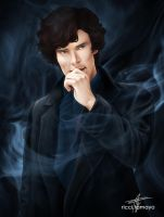 My name is Sherlock Holmes by riccitamayo09