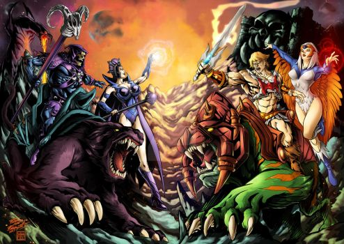 Masters of the Universe by gwydion1982