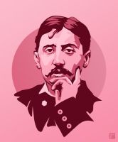 Marcel Proust by monsteroftheid