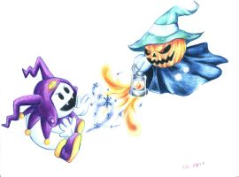 Pyro Jack and Jack Frost by Frog27