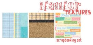 scrapbooking set by ifallfor