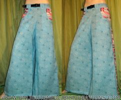 Blue-Care-Bears-Raver-Phat-Rave-Pants by RedheadThePirate