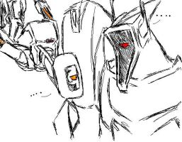 GLaDOS and Shockers by fhfgbf