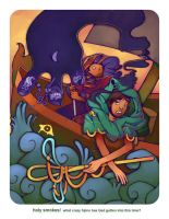 Earthsea Illustration 1 by otherwise