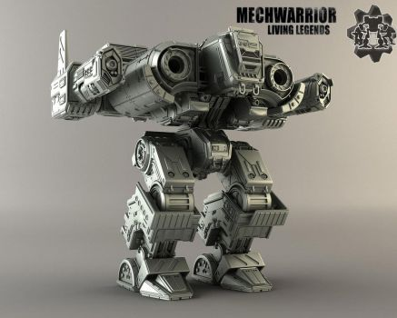 MWLL Fafnir V-ray by MechLivingLegends