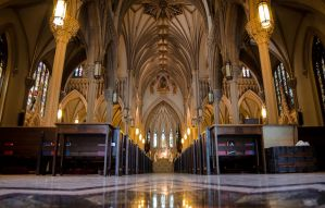 Cathedral Of The Incarnation, Garden City, NY by bmeisenzahl73