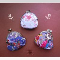 Japanese Fabric Purses by Tofe-lai