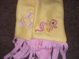 My Little Pony Fluttershy Scarf by Dark-Sith-Angel