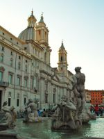 Rome - Piazza Navona by PhilsPictures