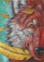 ACEO-Killslay-steelclaw by Cally-Dream