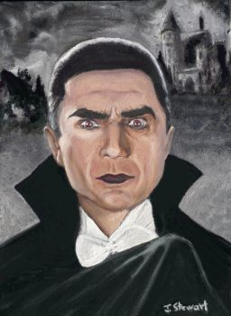 Bela Lugosi as Dracula by JesterArt