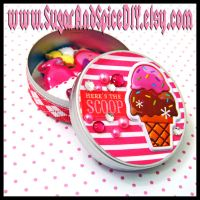 Here's The Scoop Tin by SugarAndSpiceDIY