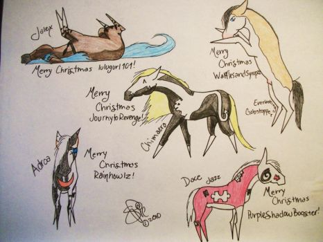 Merry Christmas - Gifts 2 by Horsewhisperer5