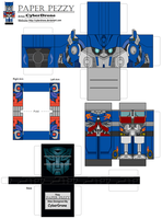 PaperPezzy- Optimus Prime 'LAM by CyberDrone