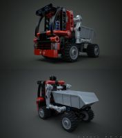 Lego Mini Container 8065 v2.0 by Ineray