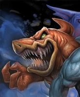 Street Sharks Preview by SketchMonster1