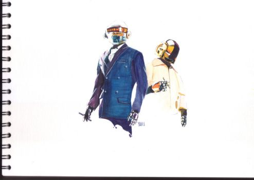 Daft Punk by MrEikichi
